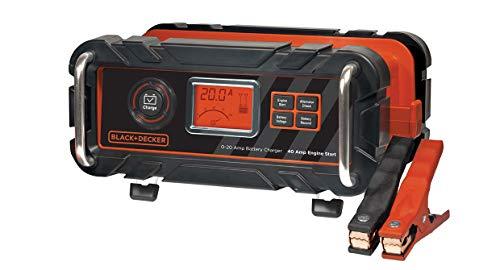 Black+Decker BC20BD Cargador 20 Arrancador 40 AMP
