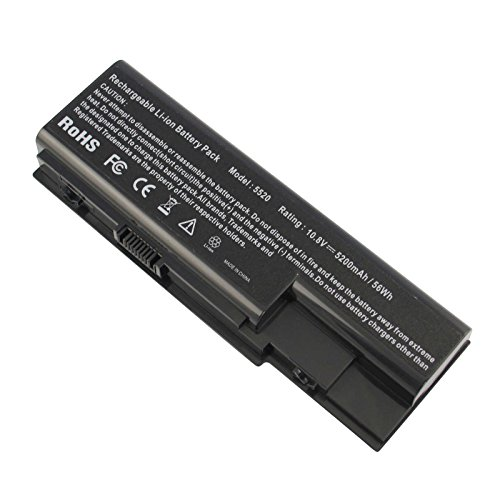 ARyee AS07B41 - Batería Compatible con Acer Aspire 7520 5720 5520 5310...