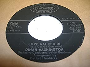 Best dinah washington love walked in Reviews