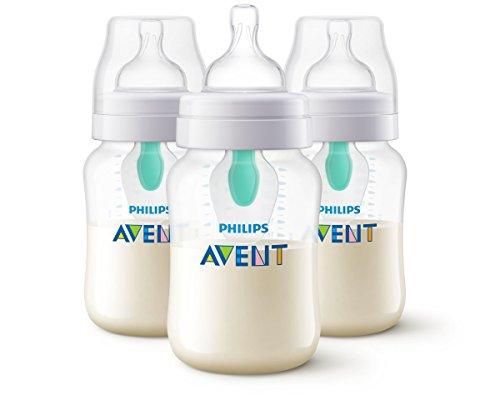 Avent anti-koliek fles met luchtvrije ventilatie 260ml 3 Pack