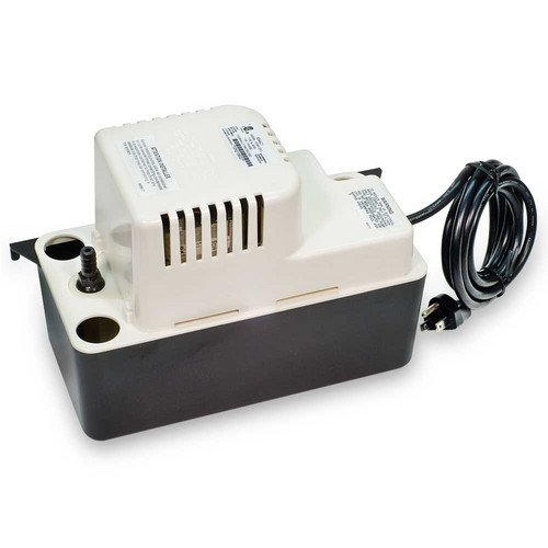 Little Giant VCMA-15ULT Automatic Condensate Removal Pump with Tubing, black