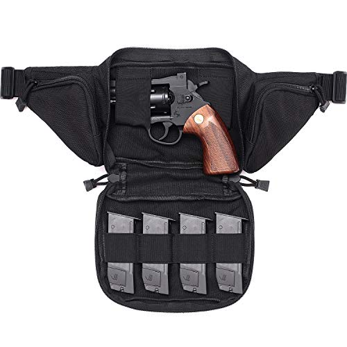 Tacticool Concealed Carry Pistol Waist Pack (Black)