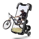 Tryone Soporte Movil Bicicleta,Soporte Moto - Anti Vibración Soporte Movil Moto Bicicleta con 360° Rotación para iPhone 12, 11 Pro, Xs Max, X, 8, 7, 6S, Samsung S10 S9 S8, y Otros Móviles de 4.7'-6.8'