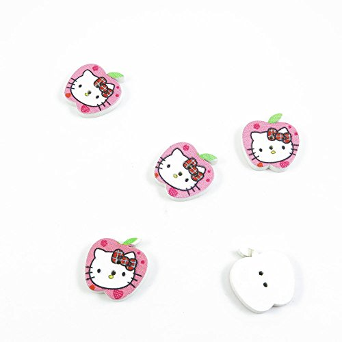 Best Price 450 Pieces Sewing Wood Buttons Sew On Arts Crafts Notions Supplies Fasteners VJ079 Hello ...