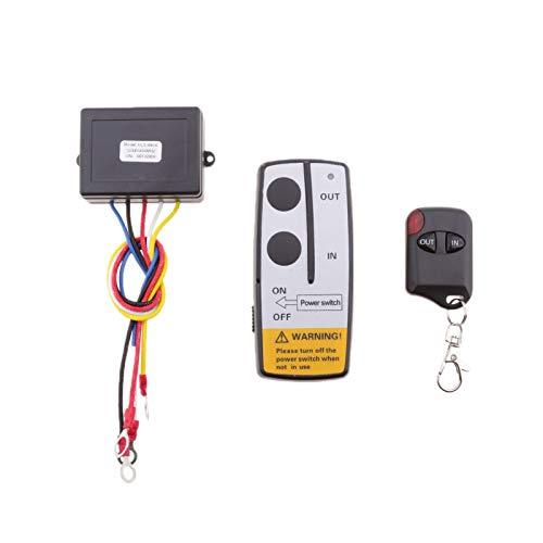 NEW MEI Kit de control del receptor remoto del receptor del cabrestante del cabrestante de 30 m de coche KLS-998x Fácil instalación para 4x4 ATV UTV QUAD SUV Pickup La instalación es simple y el model