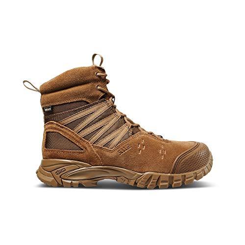 5.11 Men's Union 6' Waterproof Tactical Boot Hiking, Dark Coyote, 9 Regular US