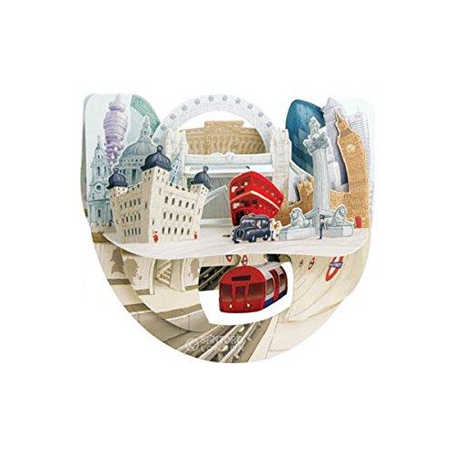 London Pop n' Rock - Santoro 3D Pop-Up Greeting Card for Him & Her