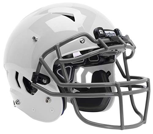 Schutt Sports Vengeance A11 Youth Football Helmet with Facemask, White, Large