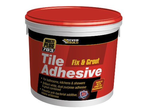 EVERBUILD Fix & Grout Tile Adhesive 703 500ml/750g