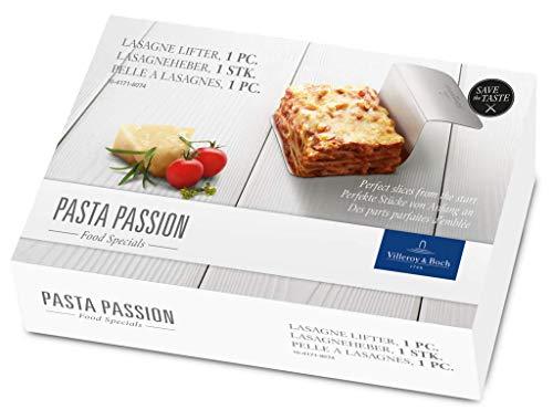 Villeroy & Boch Pasta Passion Paletta per Lasagne, 1 Pezzi, Acciaio, Bianco, 1 Pezzo