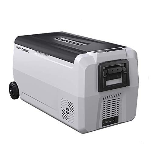 YSA 36/50/60 L Refrigerador del Coche Compresor Mini congelador portátil 12/24 V, 220 V Coche hogar de Doble Uso Refrigerador móvil Camping congelador.