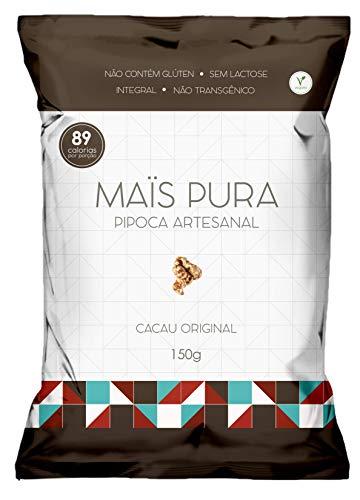 Pipoca Artesanal Sabor Cacau Original Maïs Pura 150g