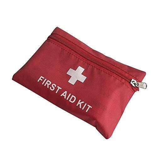 Kit di pronto soccorso Speicher-Beutel Erste-Hilfe-Kit Medical Survival-Tasche, Mini Notfalltasche for Auto-Haus Picknick Camping Reisen und andere Outdoor-Activies for den Außenbereich Home Küche