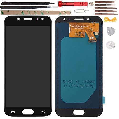 YHX-OU 5.2' per Samsung Galaxy J5 2017 J530 SM-J530F di Riparazione e Sostituzione LCD Display+Touch Screen Digitizer con Utensili Inclusi (Nero)