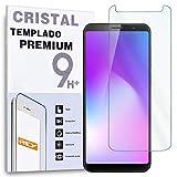REY Protector de Pantalla para CUBOT Power, Cristal Vidrio Templado Premium