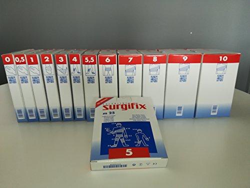 Surgifix elastische Schlauchbinde für Erwachsene, unsteril, Polyester, Polyamid und Latex, Größe 5, FA00190248