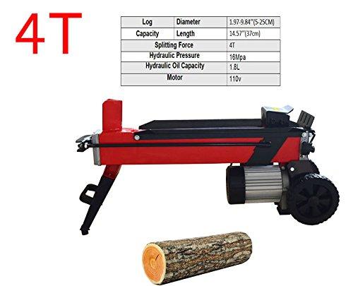 Buy Bargain Log Splitter Electric Household Wood Splitting Machine FOR Splitting Log 4T