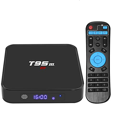 Android 9.0 TV Box 4K [4GB RAM+32GB ROM] USB 3.0 [versione 2019] Superpow K4 S Android 9.0 Smart TV, Android Box con HD H.265 4K 3D BT4.1 (New K4s)