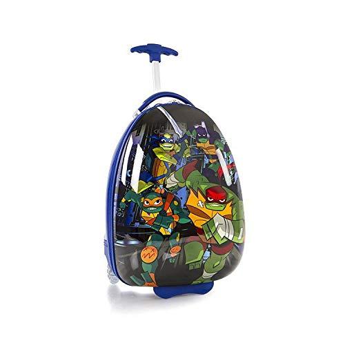 "Nickelodeon TMNT Ninja Turtles Boy's 18"" Rolling Carry On Luggage"