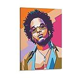 xiexun Lenny Kravitz Poster, dekoratives Gemälde,
