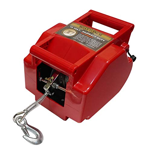 750 lb Pulling Capacity WARN 101575 Handheld Portable Drill Winch with 40 Foot Synthetic Rope