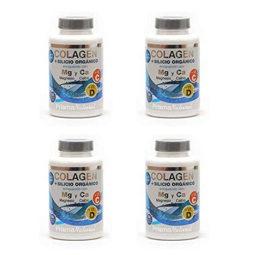 Prisma Natural - Pack Ahorro 4x Colageno Hidrolizado 180 Comprimidos - Con Calcio, Magnesio y Vitaminas C y D (2) (4)