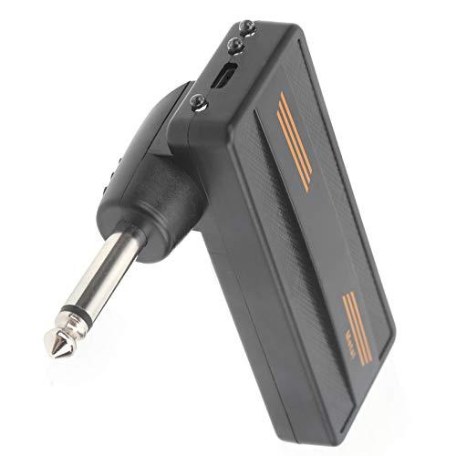 Amplificador enchufable de guitarra, fácil de transportar Amplificador enchufable de 3,3 x 3,1 x 1,1 pulgadas para rendimiento en exteriores para el hogar