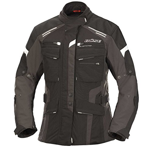 Büse 115960-42 Torino Evo Damen Jacke, Schwarz, Größe : 42