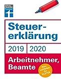 Steuererklärung 2019/2020: Für Arbeitnehmer und Beamte - Leitfaden für ELSTER - Steuerersparnis - Praktische Beispiele und Musterrechnungen I Von Stiftung Warentest: Neu: Leitfaden für ELSTER