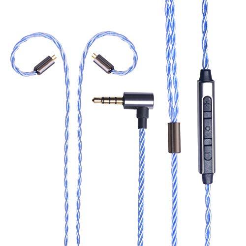 okcsc Cable de repuesto de audio de 2 pines, 0,78 mm, conector...