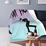 Sam Hunt Blanket Ultra-Soft Flannel Fleece Blanket Air-Conditioning Quilt for Sofa Chair Bed