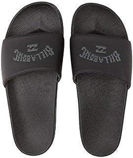 Billabong Men's Poolslide Corp Slide Sandal, Black, 9 Regular US
