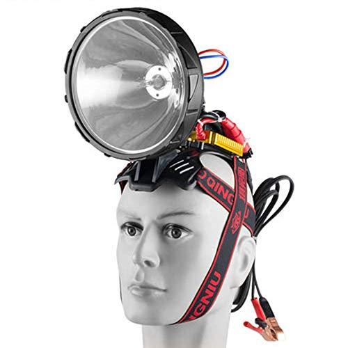 Xenon, superhelder, waterdichte bewegende koplamp, 12 V, 220 W, HID, super heldere koplamp, buitenverlichting, foot, jacht, camping