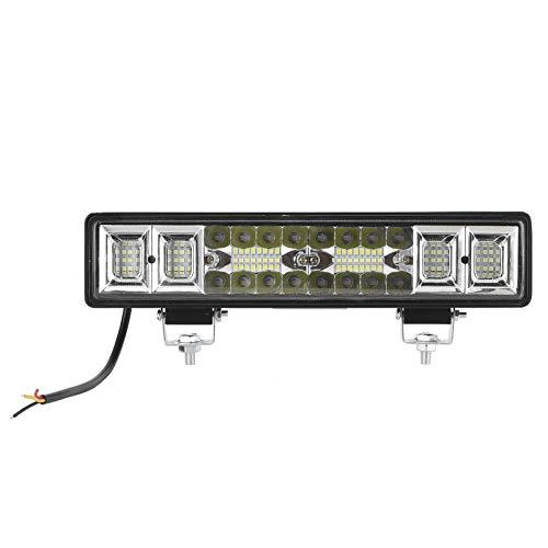 6000K LED Pods Spot Beam, barra de luz de trabajo, 56LED, lámpara de punto de conducción para camión, remolque, ATV, barco, Universal