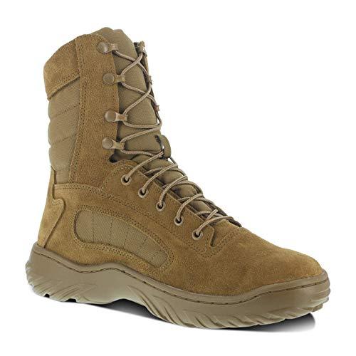 """Reebok Duty 8"""" Fusion Max Men's Tactical Boot Coyote - 4 Medium"""