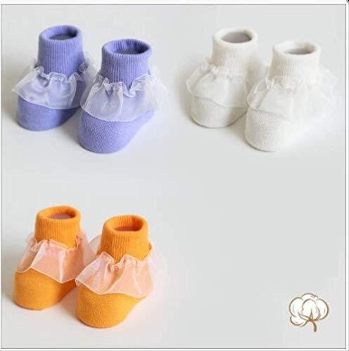 FZGZSW 3 Pares/Lote Otoño E Invierno Nuevos Calcetines Para Bebés Calcetines De...