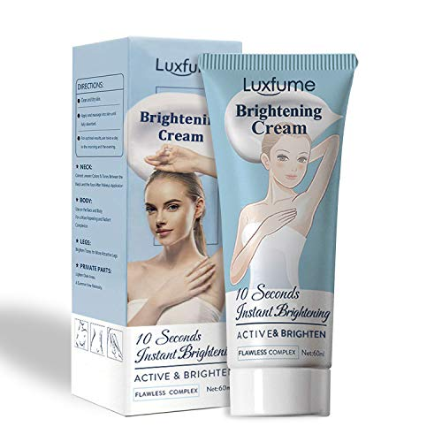 Whitening Cream,10 Seconds Instant Whitening, Moisturizes and Effective Whitening Cream for Armpit, Underarm, Knees, Elbows, Sensitive and Private Areas(2 Fl Oz)