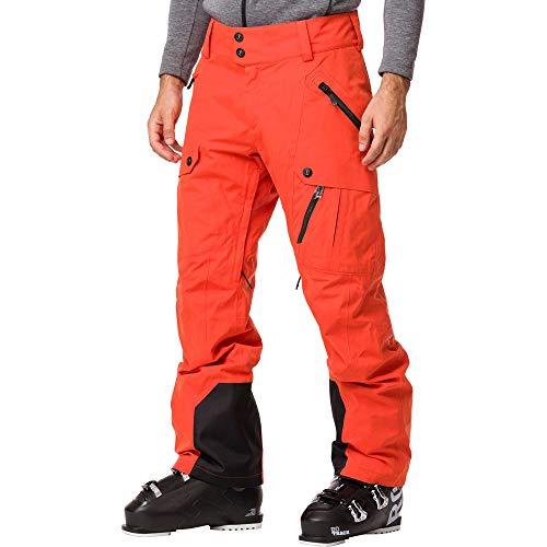 Rossignol Type Pantalon de Ski Homme, Orange Lave, XS