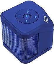 Klip Xtreme BluNote 2 Stereo Speaker- Portable Wireless & Mic- 6 Watt Peak Power, 3W RMS, 40mm Speaker Driver- Mini Pocket Sized- Stream or Connect Micro-SD Card- Blue Color