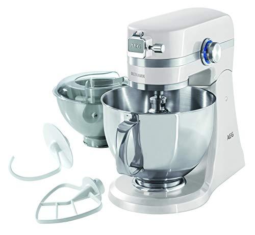AEG KM4100 Amasador - Robot de Cocina con Bol Batidora, Apta para...
