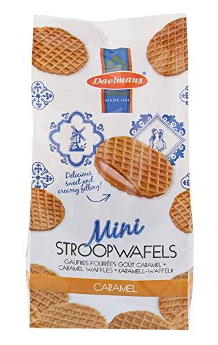 Caramel wafer cialde biscotti Stroopwafels Daelmans