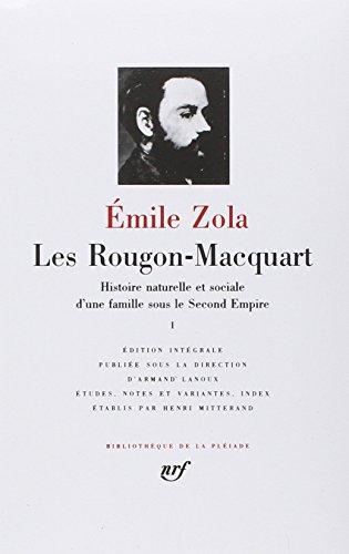 Les Rougon-Macquart 1: La Curée (BIBLIOTHEQUE DE LA PLEIADE)