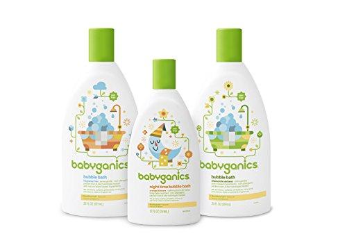 Babyganics Bubble Bath, Fragrance Free, 20oz, 2 Pack