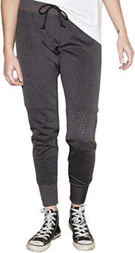 Converse Shield Lycra Pants Damen Hose black marl - XS