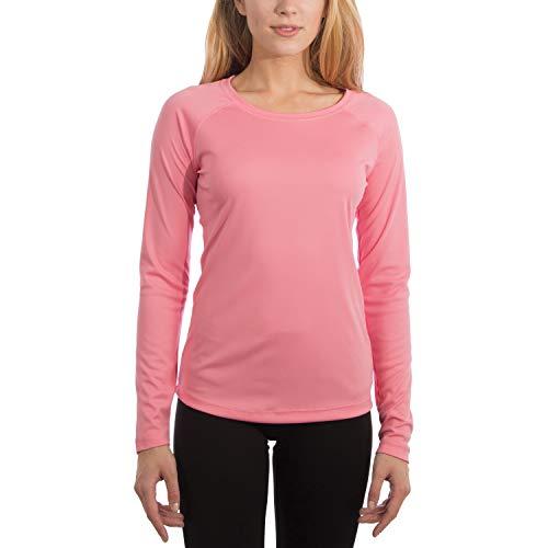 Vapor Apparel Women's UPF 50+ UV Sun Protection Outdoor Performance Long Sleeve T-Shirt X-Large Pretty Pink