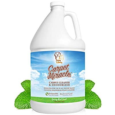 Carpet Miracle - Carpet Cleaner Solution and Deodorizer for Hoover, Bissell, Rug Doctor, Kenmore