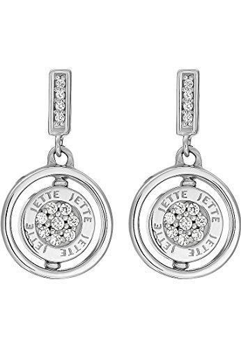 JETTE Silver Damen-Ohrstecker 925er Silber 40 Zirkonia One Size 87393658