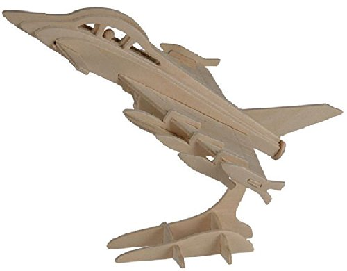 Out of the blue - Puzzle Bois 3D Avion Typhoon - 13 x 19 cm