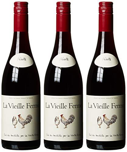 Famille Perrin / La Vieille Ferme Vin De France Rouge Grenache  Trocken (3 x 0.75 l)