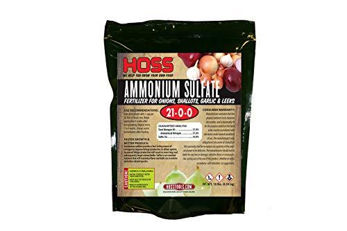 Ammonium Sulfate Fertilizer | Great for Onions, Garlic & Shallots! | 10 lb Bag